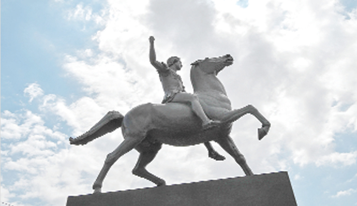 Athens installs Alexander the Great statue after 27-yr delay
