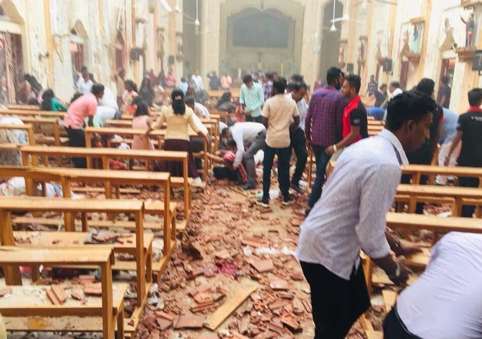 20 dead, 280 injured as six explosions rock Sri Lankan capital during Easter