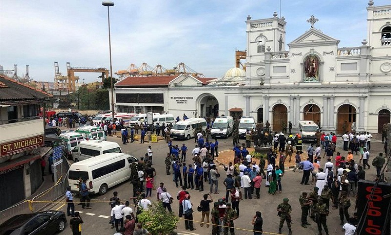 Toll rises to 156, hundreds injured in multiple blasts at Sri Lankan churches, hotels on Easter Sunday