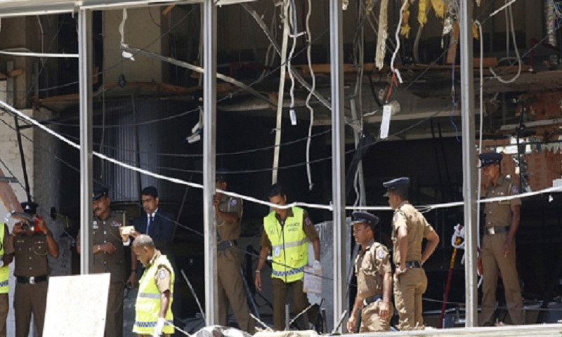 New blast in Sri Lankan capital, two dead: police spokesman