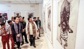 Print art exhibition Line of  Ages begins in city