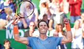 Djokovic knocked out as 'lucky' Nadal battles
