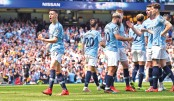 Manchester City climb  to top