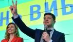 Comedian Zelensky 'wins Ukraine president election'
