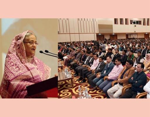 Stand against terrorism: Hasina