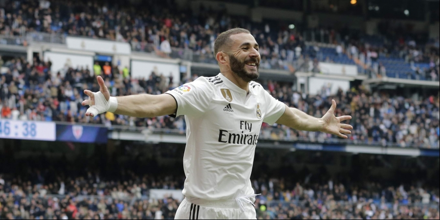 Benzema's hat-trick fires Real Madrid past Bilbao