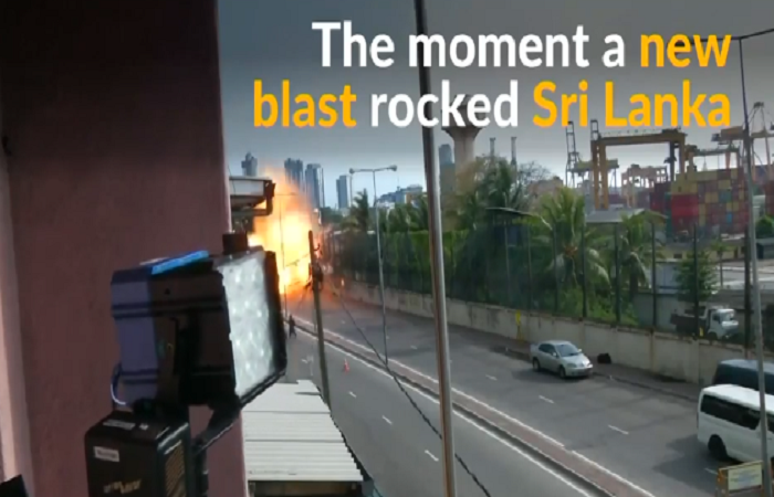 Blast in van near Colombo Church when officials defused bomb