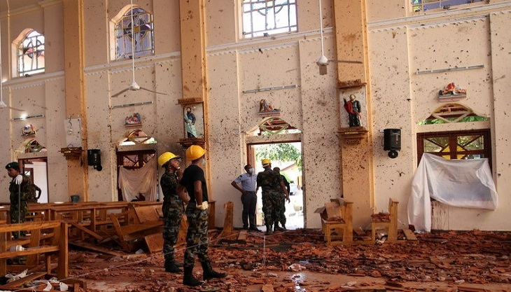 Sri Lanka's Christians afraid to attend church after blasts