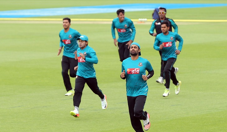 Bangladesh start World Cup preparation with 5 players