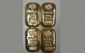 4 gold bars recovered at Dhaka Airport