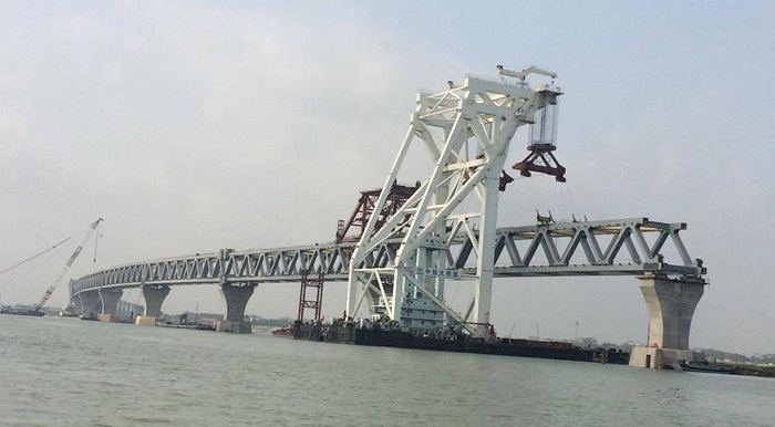 Padma Bridge's 11th span to be installed Tuesday