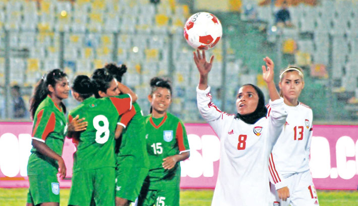 Bangladesh eves begin Bangamata Gold Cup campaign with win