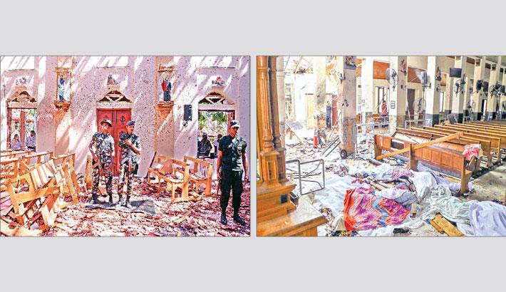 290 killed in blasts at Lanka churches, hotels
