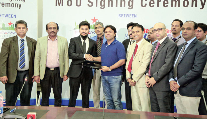 Bashundhara LPG to supply gas to Rupayan City