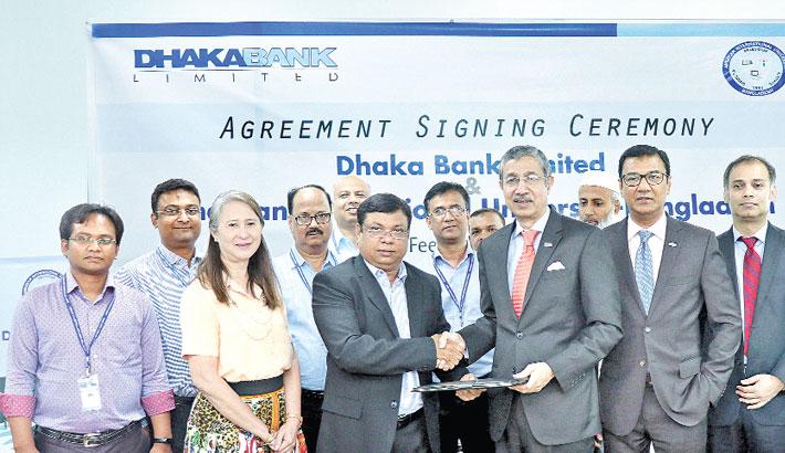 Dhaka Bank signs deal with AIUB