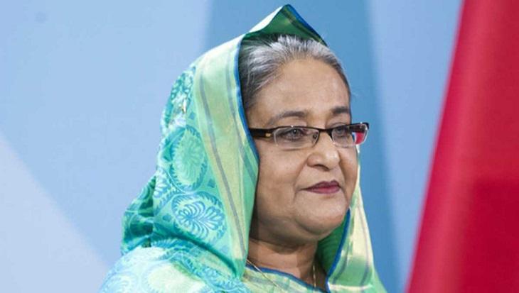 Prime Minister Sheikh Hasina leaves Brunei for home