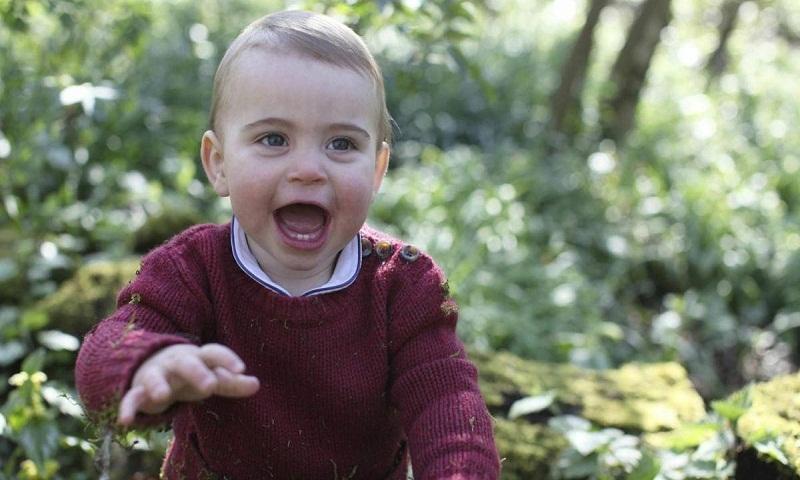 Britain's Prince Louis turns 1