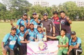 Josephite Warriors wins Dhaka Sixes Cricket Tournament-2019