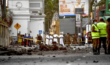 Sri Lanka blasts: Syrian arrested for questioning