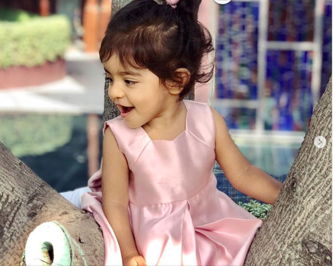 Asin's daughter Arin, is the cutest ballerina ever