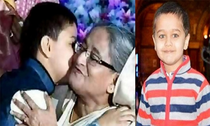 Prime Minister Sheikh Hasina at Banani to see off Zayan forever