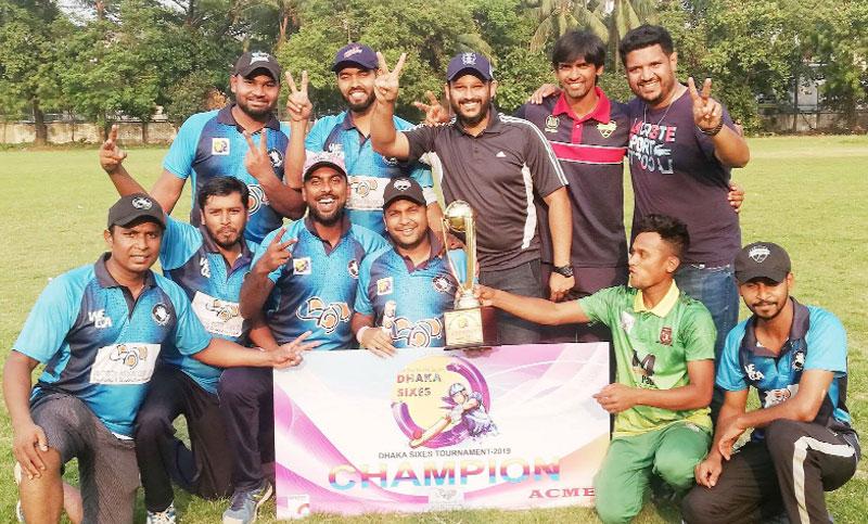 Dhaka Sixes Cricket Tournament-2019
