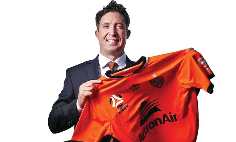 Robbie Fowler named Brisbane Roar coach