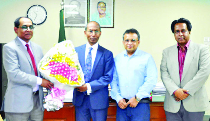 ICMAB delegation calls on BIDA chief