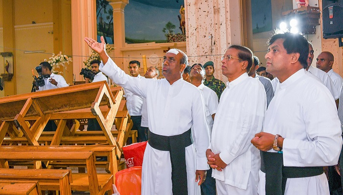 Sri Lanka president vows security shake-up over attacks