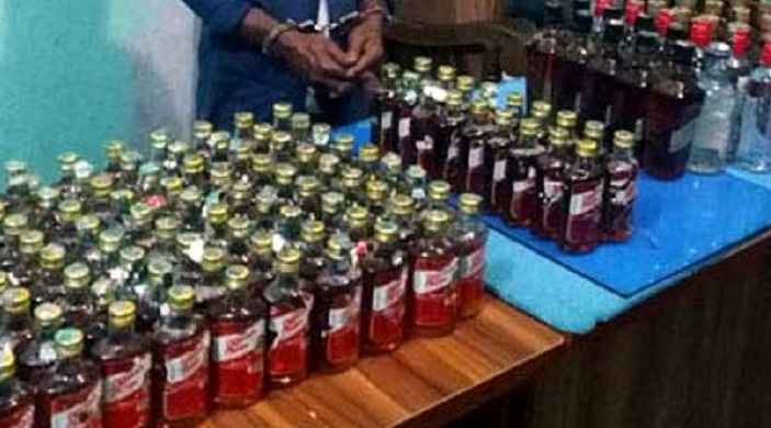 3 held with wine-yaba in Habiganj