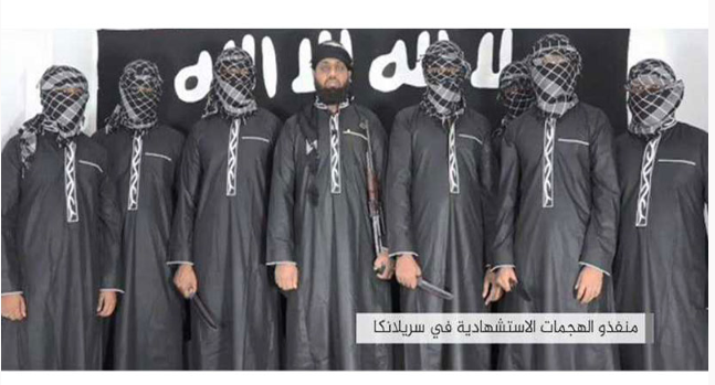IS releases photos of Sri Lanka attackers (Video)