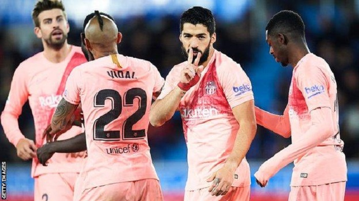Barcelona within touching distance of La Liga title