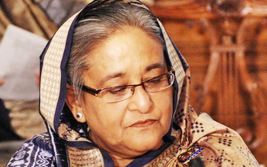 PM visits residence of late Hamida Khanam
