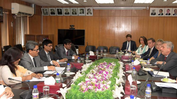 Bangladesh briefs top UN officials about Bhasan Char relocation plan
