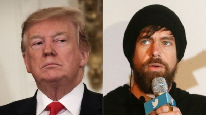 Donald Trump meets Twitter's Jack Dorsey at White House