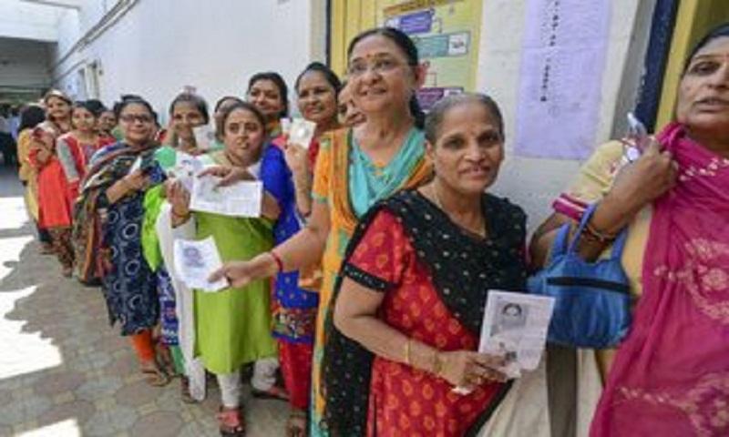 64.66 voter turnout in phase 3 of Lok Sabha polls: EC