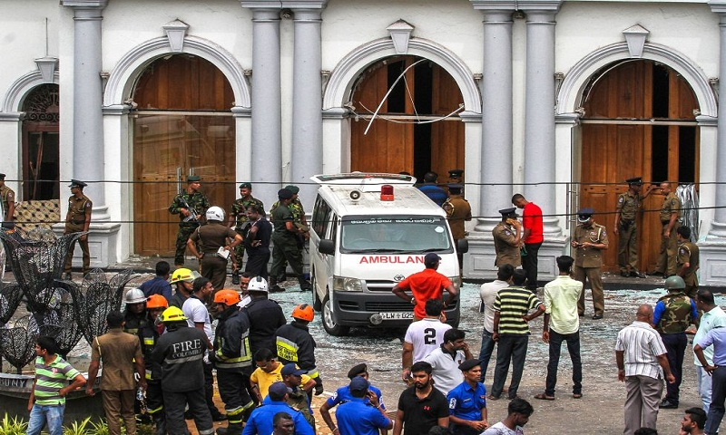 Sri Lanka attacks: Bomber 'studied in UK and Australia'