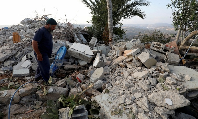 Israel demolishes West Bank home of Palestinian attacker