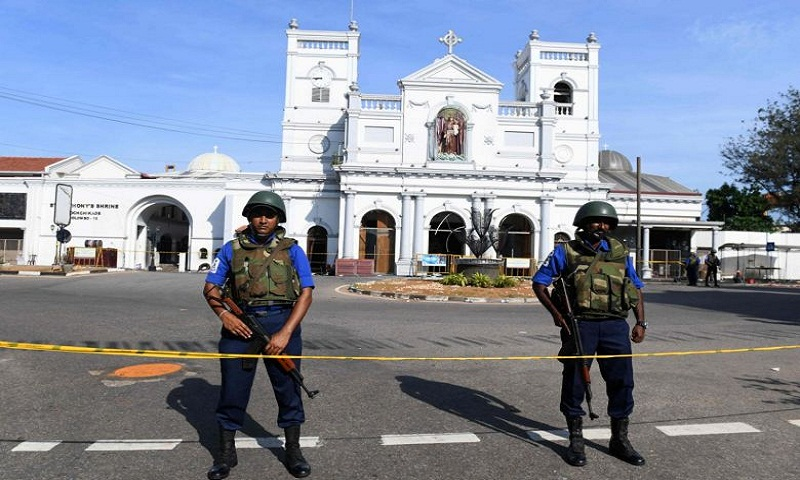 Sri Lanka explosions: One of 9 suicide bombers involved is a woman, says deputy defence minister