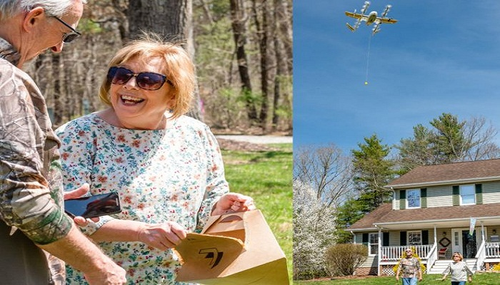 Google Wing drones approved for US home deliveries