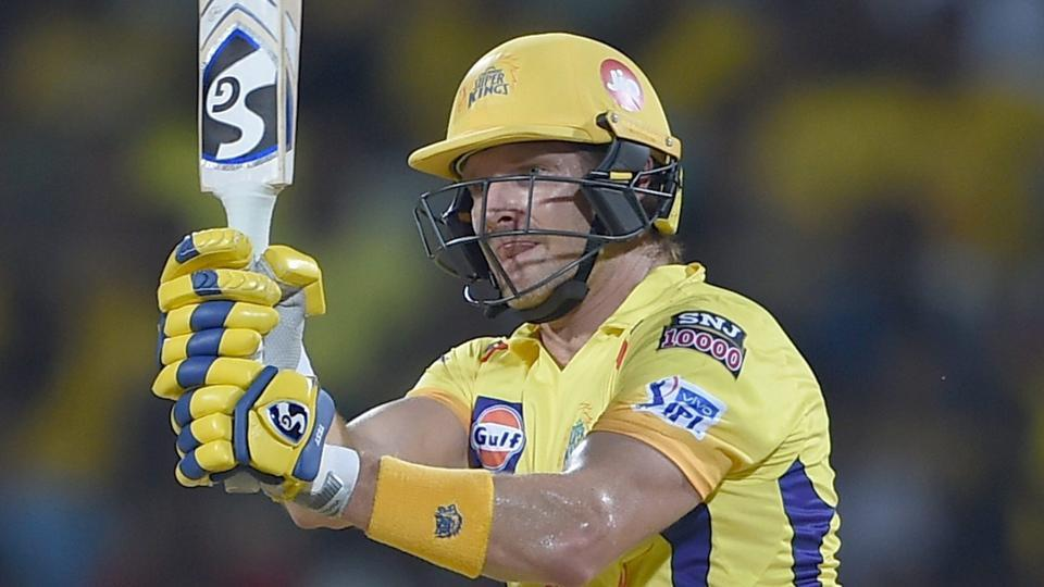Watson 96 fires Chennai top of IPL