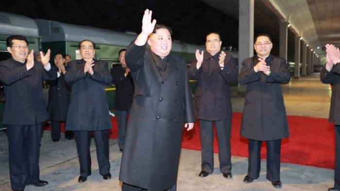 Kim Jong-un heads to Russia for Vladimir Putin summit