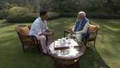 Modi gets 'candid' with Bollywood star