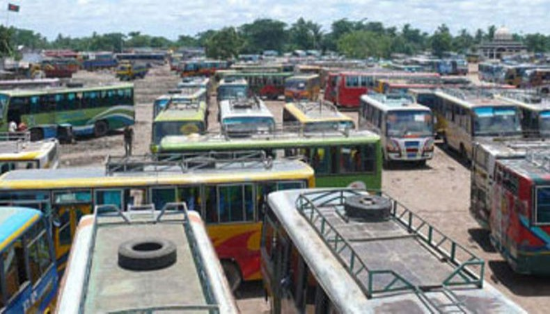 Transport strike underway in Chattogram