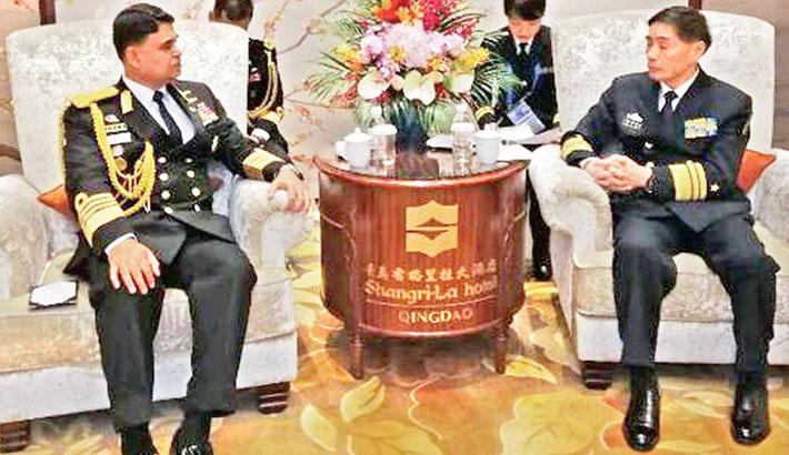 Admiral Aurangzeb meets Chinese President, Navy chief