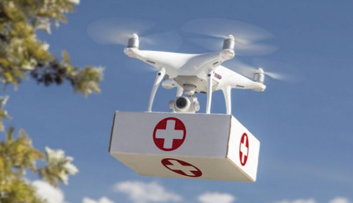 Ghana eyes world record in medical drone service