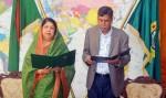 BNP's Zahidur Rahman takes oath as MP