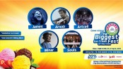 Igloo ice cream festival begins at International Convention City Bashundhara