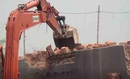 Brick kiln near Maisha's school in Parbatipur demolished
