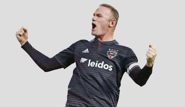 Rooney fires DC United to top of MLS